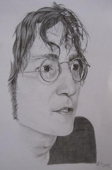 John Lennon par moony